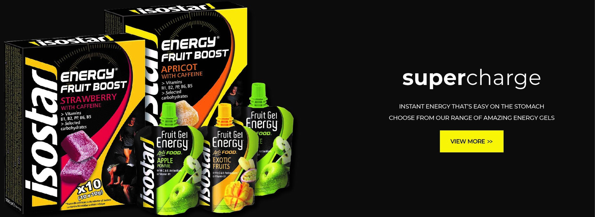 Isostar South Africa Instant Energy Gels