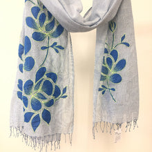 Load image into Gallery viewer, Nykaa Scarf Denim