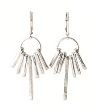 Load image into Gallery viewer, Pablo earring in pewter by Anne Marie Chagnon