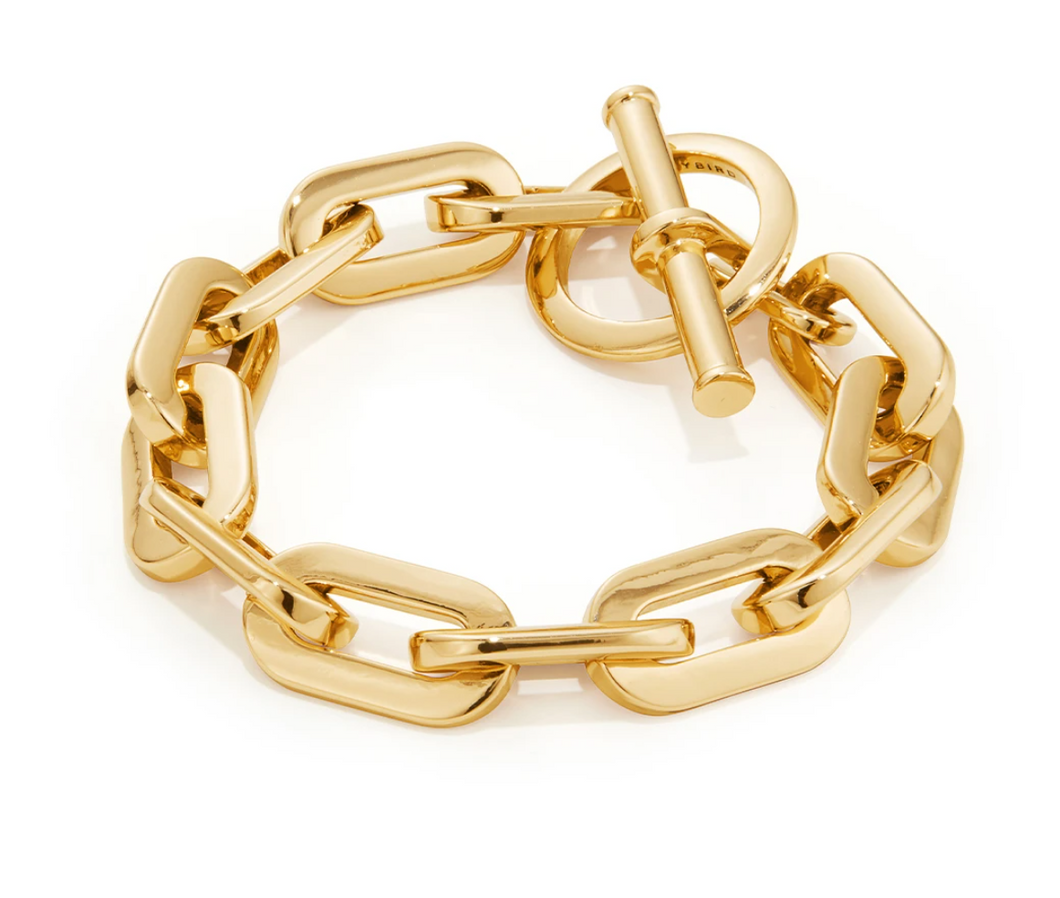 Toni Bracelet High Polish Gold