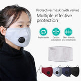 1 50pcs Reusable Face Mask Mouth Masks PM2.5 Anti Dust Pollution Cotton Activated Carbon Filter Valve Facemask New|Die-Cut Machines