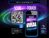 Digital Counter Mats with QR & NFC (Tracks Engagement)