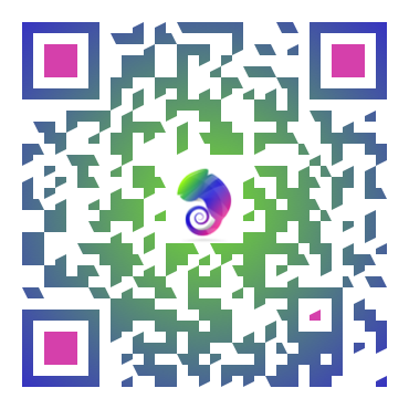 QR Code Design Colorized Logo Customized Branding