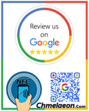 Social Media Smart Posters Stickers Table Toppers Decals QR & NFC Like Follow Check in Reviews