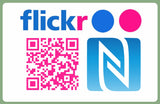 Social Media Business Cards NFC QR Code Chmelaeon Cards