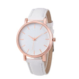 Susenstone women watches geneva brand Fashion dress ladies Watches Leather women Analog Quartz Wrist Watch relojes mujer 2016
