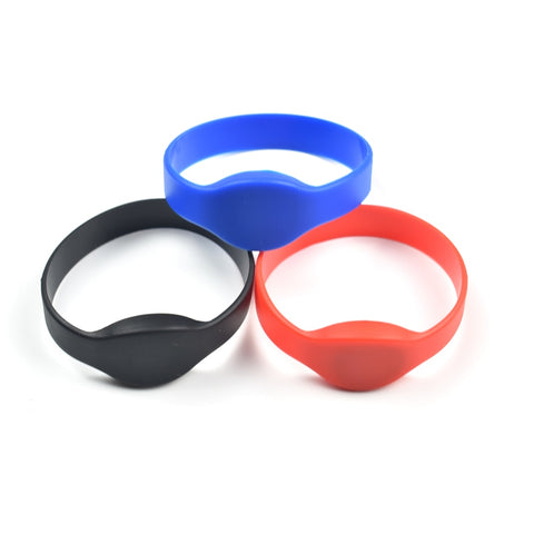 1pcs 13.56Mhz UID Changeable MF 1K S50 NFC Bracelet RFID Wristband Chinese Magic Card Back Door Rewritable S50 Card
