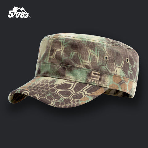 5822fd745579b Army Camouflage Military Cap Men Multicam Soldier Combat Train Tactical Hat  Flat Outdoor Airsoft Paintball Hunting
