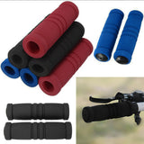 Bike Bicycle Grips Motorcycle Handle Bar Cover Bike Bicycle Racing Sponge Sweat Bicycling Handlebar Grip Covers free shipping