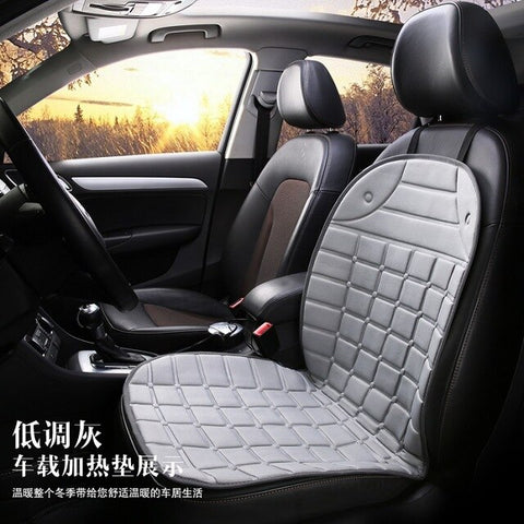 car heated cushion auto supplies heated pad car heating pad winter thermal seat pad 12v Car heating seat cover