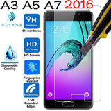 ON SALE !  2.5D 9H Premium Tempered Glass film for Samsung J3 J5 J7 A3 A5 A7 2015 2016 Galaxy Grand Prime Screen Protector Case