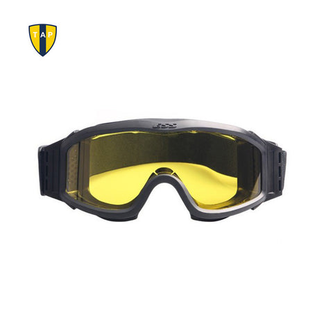 Ballistic Military Army Profile NVG Glasses Tactical Eyewear Protection Motorcycle Goggles Cycling Glasses 3 Pairs of Lenses