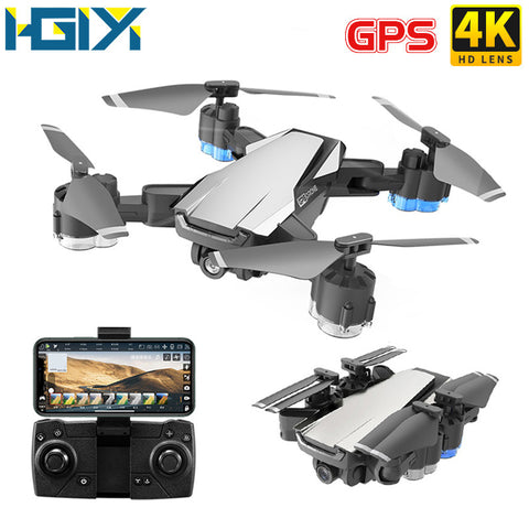 HGIYI G11 GPS RC Drone 4K HD Camera Quadcopter Optical Flow WIFI FPV With 50 Times Zoom Foldable Helicopter Professional Drones