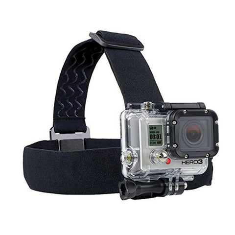 For Gopro Accessories Adjustable Head Strap Professional Mount Tripod for Gopro Hero 4 3 3+ 2 SJ4000 SJ5000 SJ6000 AEE xiaomi yi