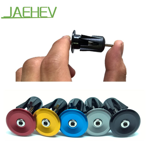 1 pairs Bike Handlebar End Plugs MTB Road Bicycle Cycling Aluminum Handlebar Grips High Quality Hot Sell Handle Bar Cap