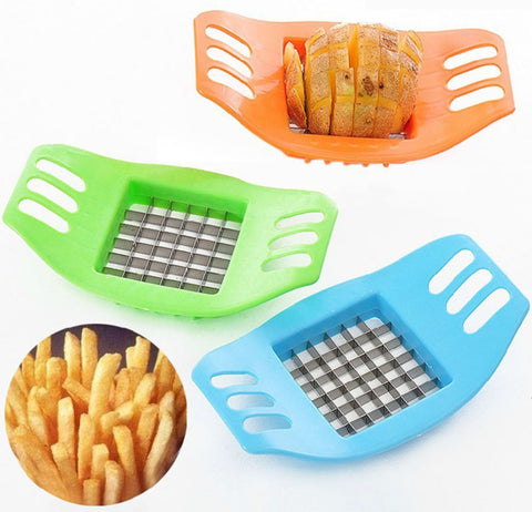 Potatoes Cutter Cut into Strips French Fries Tools Kitchen Gadgets Practical Multi-function Cutting Potato Layering Machine