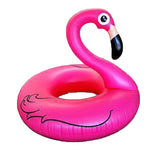 120CM Giant Swan Inflatable Flamingo Ride-On Pool PVC Toy Float Inflatable Bath Ring Holiday Water Fun Toys TD0025