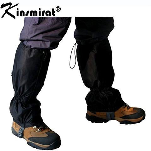 1 Pair Snow gaiters Ripstop Outdoor Ski Legging Gaiters Wear Breathable Hiking gaiters outdoor waterproof