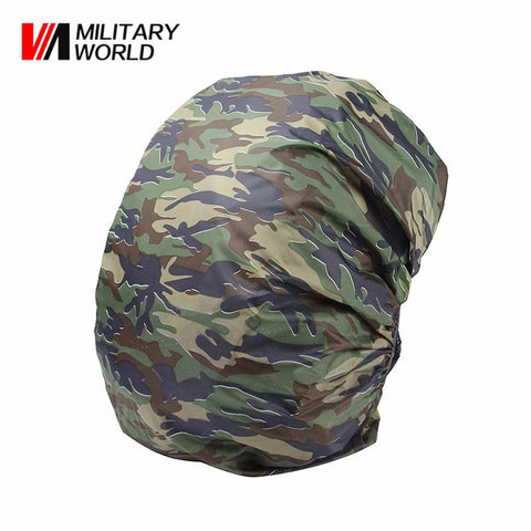 1 pc 30L-40L Waterproof Camping Hiking Backpack Luggage Bag Dust Rain Cover For Travel Tool Hunting Camouflage Pack Nylon Case