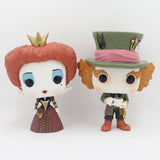 Funko POP Alice in Wonderland the Queen Iracebeth Mad Hatter 12cm PVC Action Figures Model Toy Collection Doll Decoration