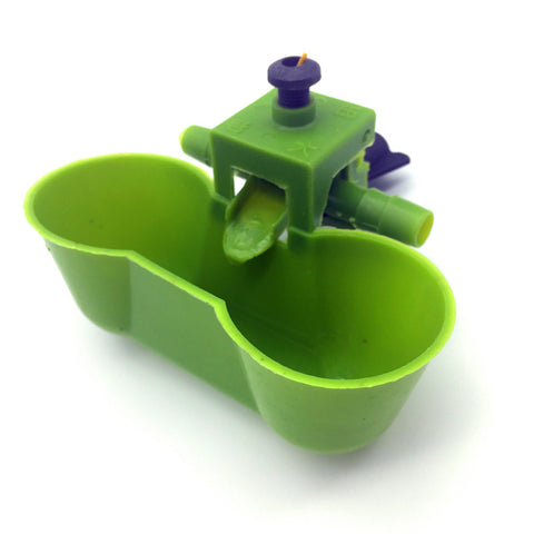 10 sets Bird drinking fountain Incubator Quail Water Bird Siamese drinking cup Chicken tools wholesale Free shipping