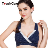 Bamboo Fiber Soft Cotton Maternity Nursing Bra Anti Sagging Gravidas Pregnant Women Underwear Solid Dot Lace Sleeping Bra