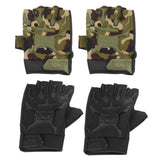 Motorcycle Military Tactical Airsoft Riding Army Sports Antiskid Racing Half Finger Gloves One Size ISP