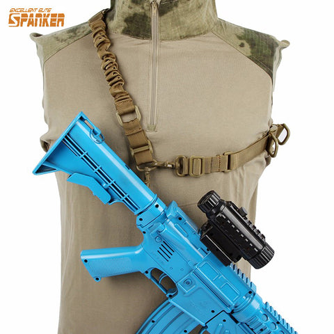 Military Tactical Single Point 2 Point Shoulder Sling Hunting Rifle Gun Carry Belt Airsoftsports Paintball Accessories
