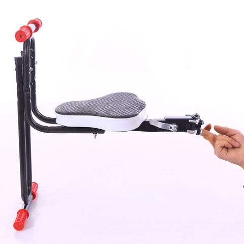Safe Protect Quick Release Front Kids Saddle Mountain Bike Electric Folding Child Safety Seats Front FZZ001