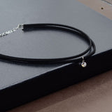 2017 Black Velvet Choker Women Crystal Chocker Necklace Rhinestone Chokers Necklace Collier ras de cou collares mujer