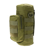 Outdoor Tactical Military Molle System Water Bags  Water Bottle Bag Kettle Pouch Holder For Camping Camelback Bicycle J2