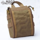 ROCOTACTICAL MOLLE Tactical Medical Pack US Army Emergency Military Medical Bags Survival Modular Medic Bag Cordura for Hunting