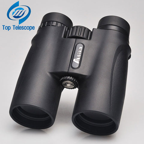 Binoculars Asika 10x42 high quality Telescope military night vision binoculo high power  telescopio for hunting optics black