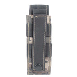 New 14*6cm 600D Tactical Bag Outdoor Hiking Molle Military Pack Key Mini Tools Magazine Holster Pouch Sport Bag