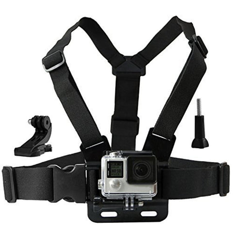 Chest Mount Harness with J hook for SJCAM SJ4000 Go Pro Action camera Chesty Strap for Xiaomi yi Gopro hero 5 4 SJ5000  10