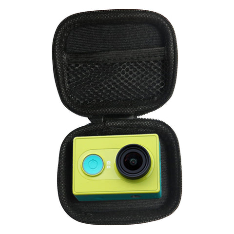 Portable Mini Box Xiaoyi Bag Black Camera Case For Xiaomi Yi 4K 1080p Gopro Hero 5 4 Session 3 SJCAM Sj4000 m1 Yi Accessories