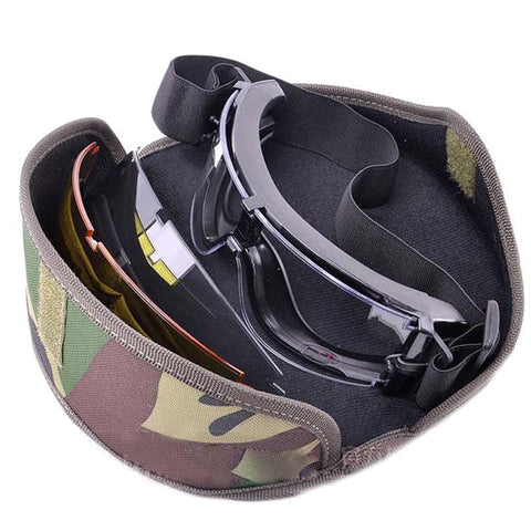 Military Tactical Goggle Airsoft Glasses Outdoor Sports Paintball Sunglasses Shooting Hunting Eyewear