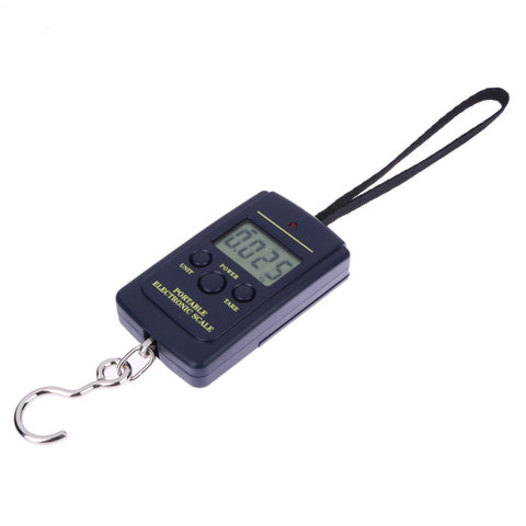 40kg/10g Portable Mini Electronic Digital Hanging Scale Luggage Balanca Digital Handy Pocket Weight Hook Scale