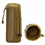 Protector Plus Outdoor Sport Camping Hiking Tactical Water Bottle Pouch Military Molle Pack Camouflage Gear Waist Back Pack
