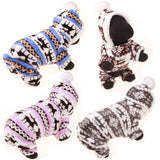 Winter Pet Dog Clothes For Small Dogs Deer Warm Fleece Coat Jackets Costume Clothing For Puppy Teddy Chihuahua Hoodie Apparel