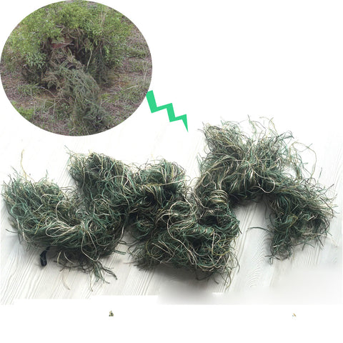 Camo 3D Rifle Gun Wrap Cover Use Elastic Strap For Camouflage Forest Hunting Ghillie suit for Sniper Hunting Paintball Game