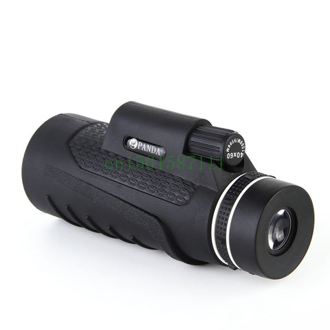 2016 New High Quality 40x60 Zoom Outdoor Telescope Monocular hd Vision Telescopes Hunting Military Monoculars Binocular Useful