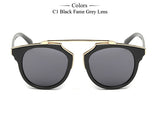 New Fashion Cat Eye Sunglasses Women Brand Designer Vintage Sun Glasses Men Woman UV400 Glasses Oculos De Sol Feminino MA017