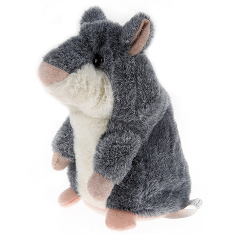 Lovely Talking Hamster Plush Toy Sound Record Speaking Hamster Talking Toys for Children