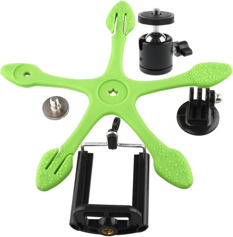 Gekkopod Mini Tripod Mount Portable Flexible Stand/Holder for i Phone Gopro xiaomi yi Sj4000 SJCAM Sports Camera Accessories
