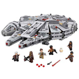2016 Lepin Star Wars Millennium Falcon Outer Space Space Ship Building Blocks Model Toys Christmas Gift for Children