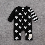 Star Romper Spring Autumn Fashion Newborn Baby Clothes Infant Boys Girls Rompers Long Sleeve Coveralls Roupas De Bebe Unisex