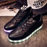 Women casual led shoes for adults 2017 hot colorful women shoes led luminous shoes women