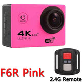 4K Action Camera Original F60 / F60R Remote WiFi 2.0 LCD 170D Len Helmet Cam Underwater go Waterproof pro Camcorder 1080P@60fps
