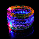 Christmas celebration acrylic flash bracelet glow bracelets hand ring Party Supplies kids toys Fluorescent sticks